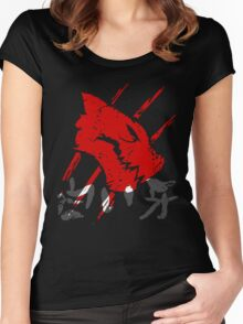White Fang T-Shirt Women's Fitted Scoop T-Shirt
