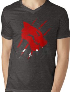 White Fang T-Shirt Mens V-Neck T-Shirt
