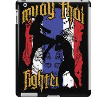 muay thai fighter flag iPad Case/Skin