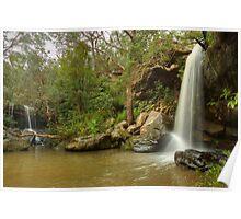 Girrakool waterfalls Poster