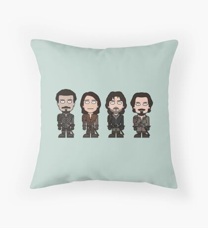 The Musketeers (season 2) Throw Pillow