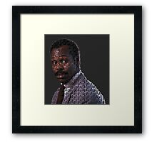 I'm too old for this shit Lethal Weapon Framed Print