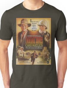 young Indiana Jones chronicles poster Unisex T-Shirt