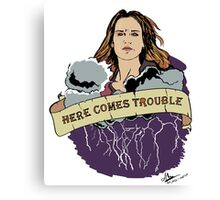 Haven - Mara (Here Comes Trouble) Canvas Print