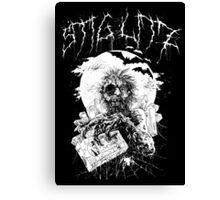 Say You Love Satan 80s Horror Podcast - Hugo Stiglitz VHS Zombie Canvas Print