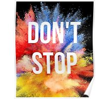 Don't Stop Poster