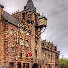 Tolbooth at the Canongate by Tom Gomez