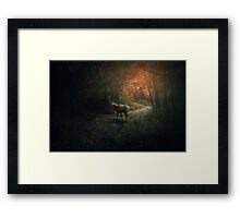 The Forest Guardian Framed Print