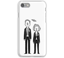 The X Files: Mulder and Scully iPhone Case/Skin