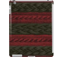 Cable Knit Stripe iPad Case/Skin