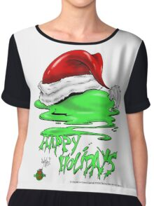 Snot That Ate Port Harry Christmas - 2014 Chiffon Top