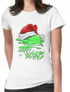 Snot That Ate Port Harry Christmas - 2014 Womens Fitted T-Shirt