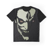 Mad Grinning Psycho Graphic T-Shirt