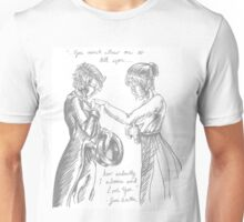 Pride and Prejudice with Lesbians Unisex T-Shirt