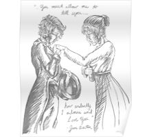 Pride and Prejudice with Lesbians Poster