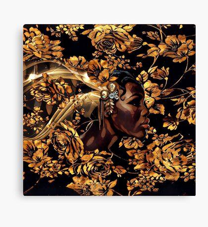 Black & Gold Canvas Print