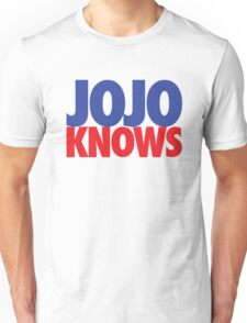 JoJo Knows Unisex T-Shirt