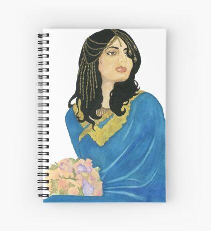 Princess Fatima Spiral Notebook