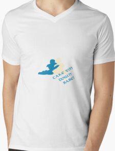 Babe! Mens V-Neck T-Shirt