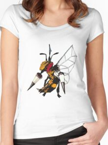 Beedrill- Techno Women's Fitted Scoop T-Shirt