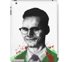 The charming Mr. Nygma iPad Case/Skin