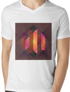 Origami-esque Mens V-Neck T-Shirt