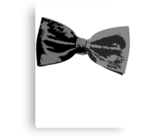 Bow Tie (inclined right) Metal Print