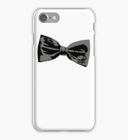 Bow Tie (inclined right) iPhone Case/Skin