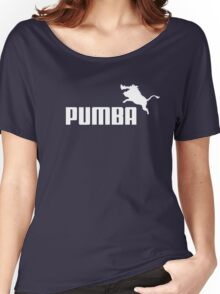 Pumba Logo Women's Relaxed Fit T-Shirt