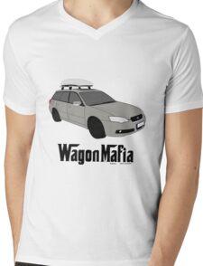 Subaru Legacy Wagon Mafia Mens V-Neck T-Shirt
