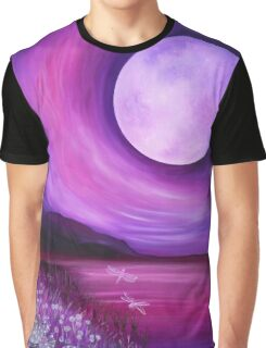 Tranquil Moon Graphic T-Shirt