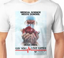 Say You Love Satan 80s Horror Podcast - Medical Murder Unisex T-Shirt