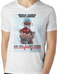 Say You Love Satan 80s Horror Podcast - Medical Murder Mens V-Neck T-Shirt