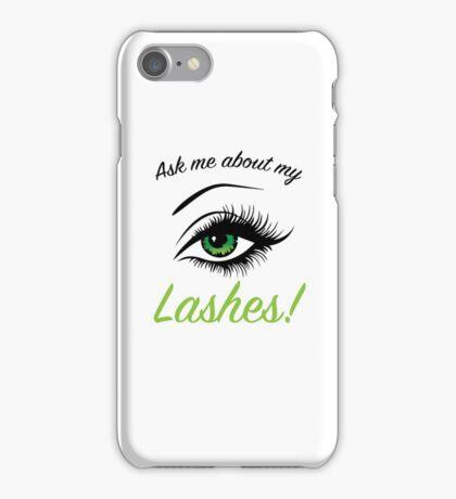 Lashboost Showoff iPhone Case/Skin