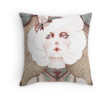 The Beauty Freaks - The Albino Throw Pillow