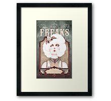 The Beauty Freaks - The Albino Framed Print