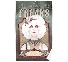The Beauty Freaks - The Albino Poster