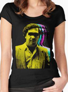 El patrón Colors Women's Fitted Scoop T-Shirt