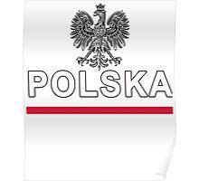Poland - Polska National Sport Jersey Design Poster