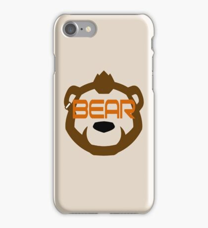 Phenom Bear - Grizzly Bear Goggles -  iPhone Case/Skin