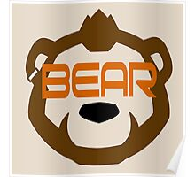 Phenom Bear - Grizzly Bear Goggles -  Poster