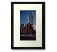 The Brown Palace Framed Print