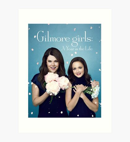Gilmore girls - a year in the life - netflix series Art Print