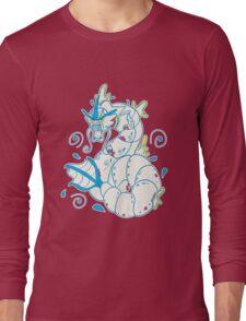 Gyarados Popmuerto | Pokemon & Day of The Dead Mashup Long Sleeve T-Shirt