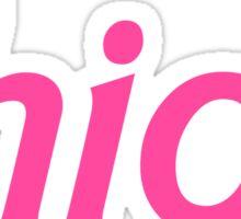 Thicc Sticker
