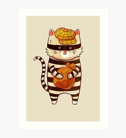 Catburglar Art Print
