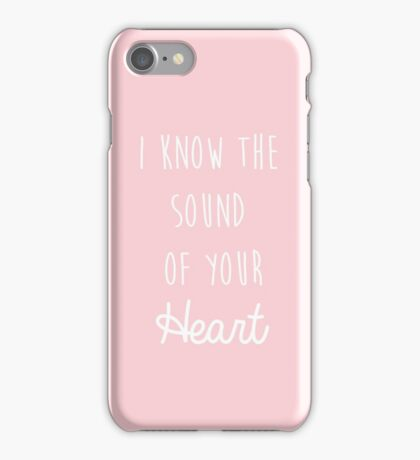 The 1975 Lyrics iPhone Case/Skin