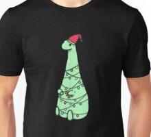 christmas Dinosaur Unisex T-Shirt
