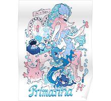 Starter's family: Primarina Poster