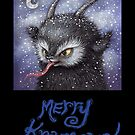 Merry Krampus 2 by Brett Manning